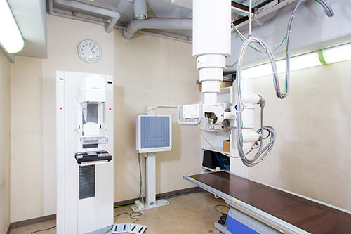 一般X線装置とマンモグラフィ装置